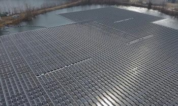 Floating Solar Project Completed in New Jersey USA, 2019 Capacity: 4.4 MWp